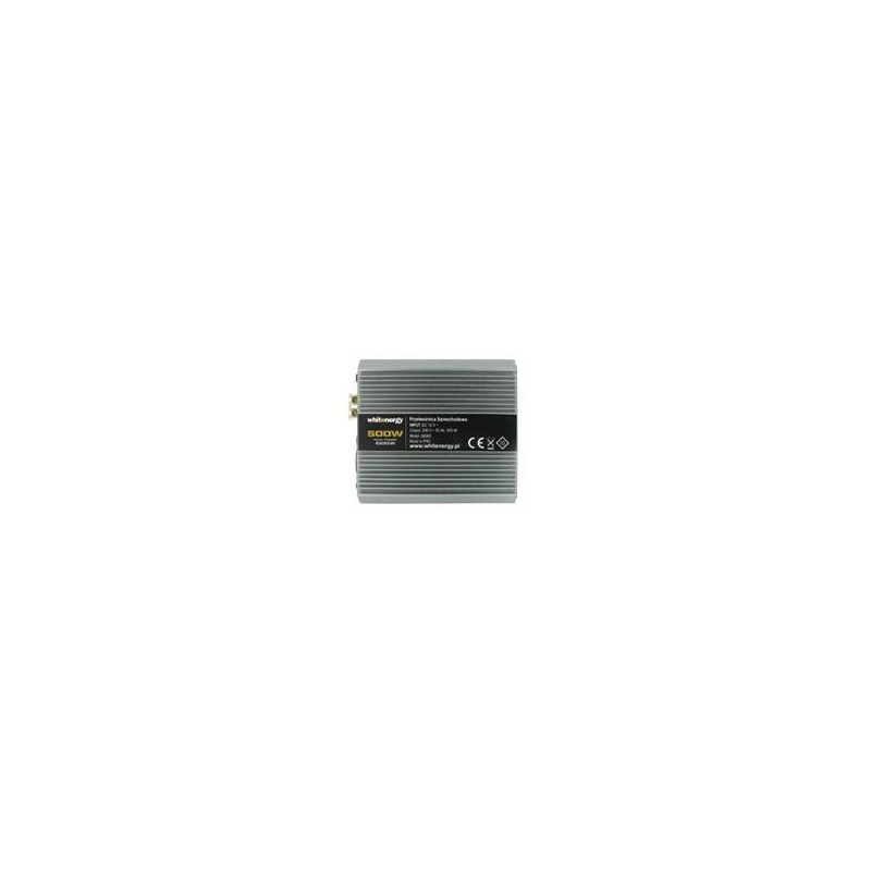 Napěťový měnič DC/AC 12V/230V 500W, 2 zásuvky AC