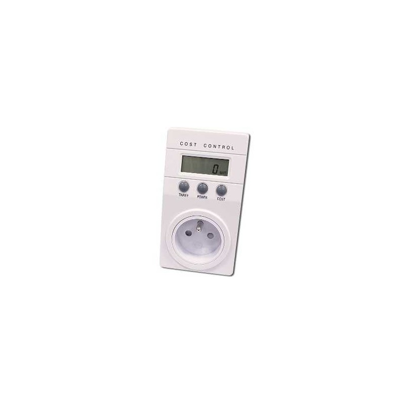 Měřič spotřeby elektrické energie, wattmetr - 230 V/16 A