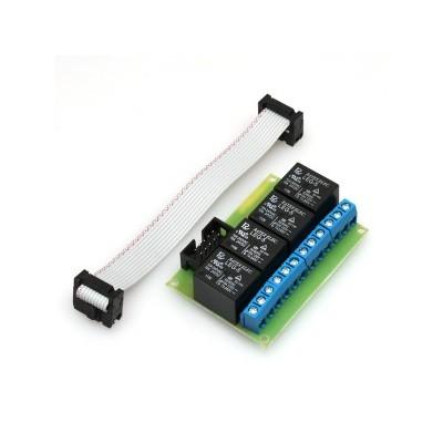 Rozšiřující modul k LAN ovladači, 4 x relé