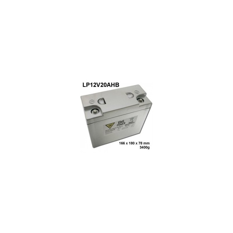 Baterie LiFeYPo 12V 20Ah