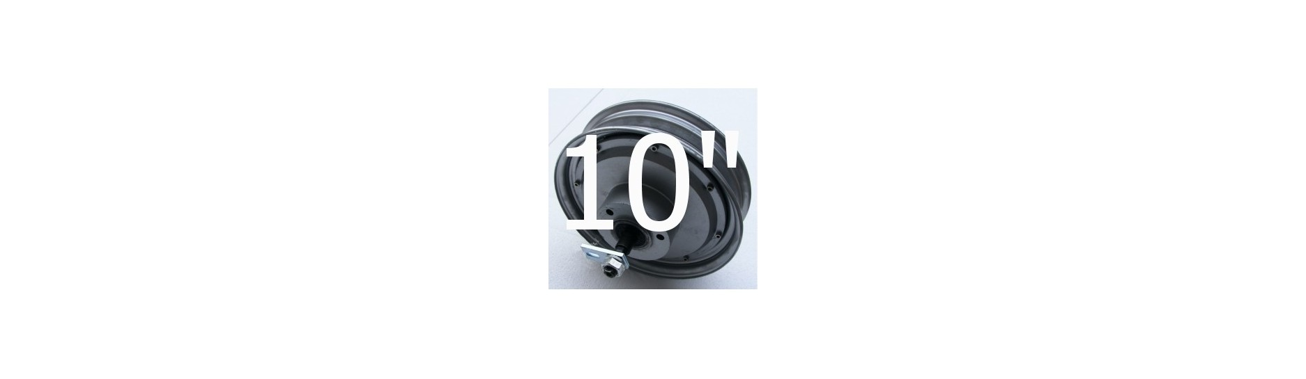 "BLDC hub stejnosměrný motor dc 10"""