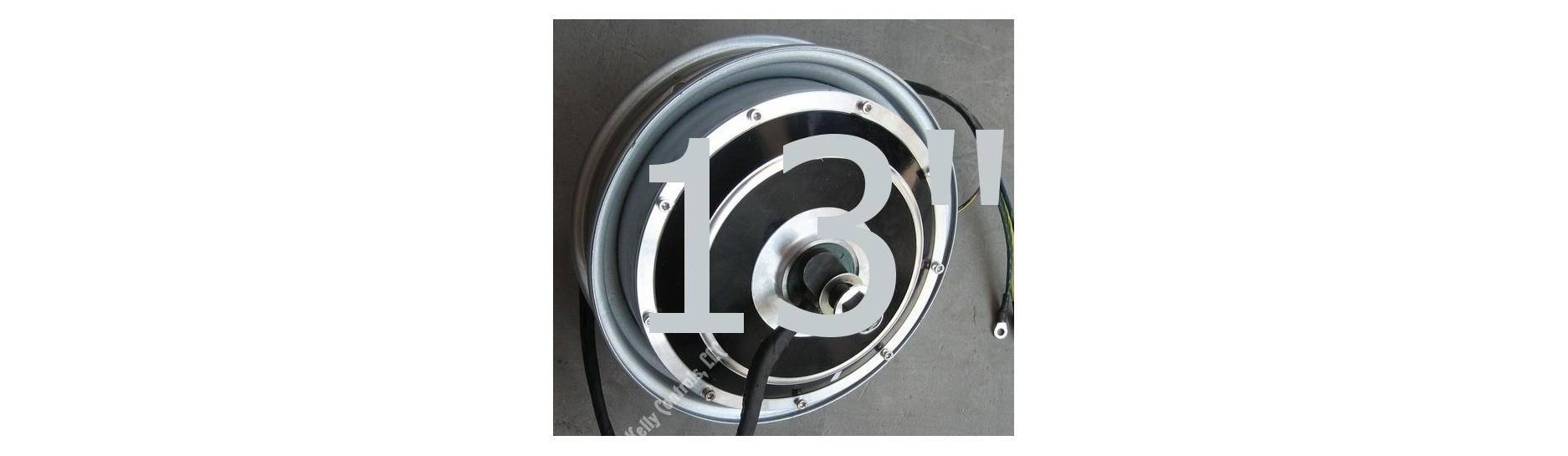 "BLDC hub stejnosměrný motor dc 13"""