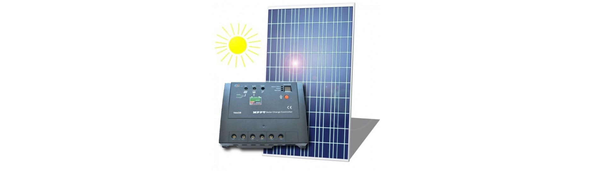 solární systémy, fotovoltaické panely, měniče, invertory