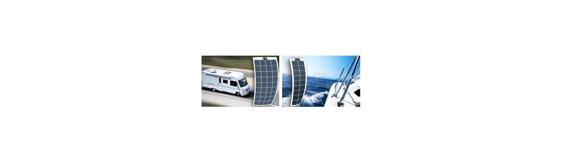 Flexibilní solární panely
