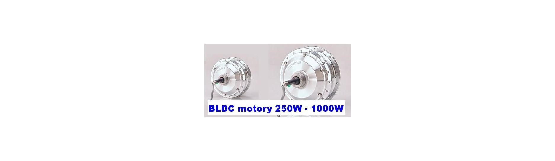 bldc motory elektrická kola ebike evbike 250W 500W 750W 1000W