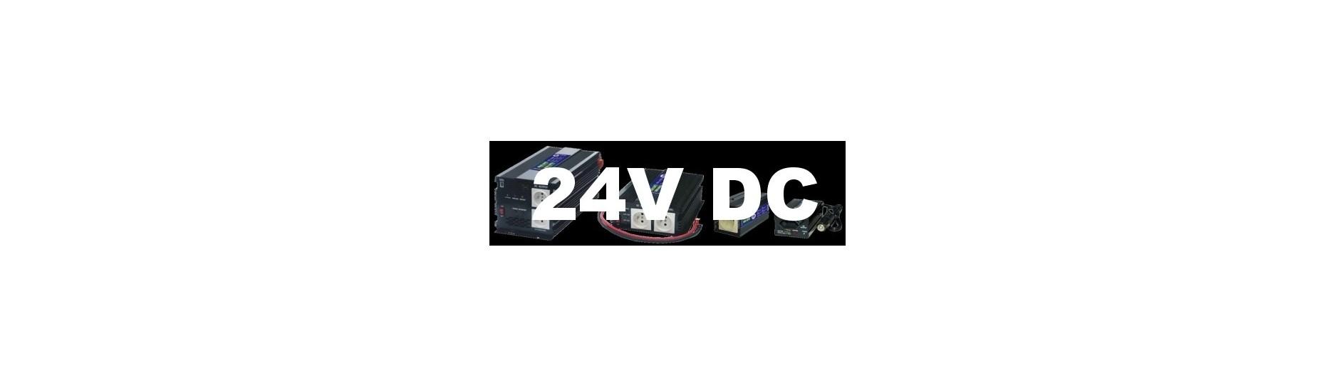 Měniče, invertory AC/DC na 24V