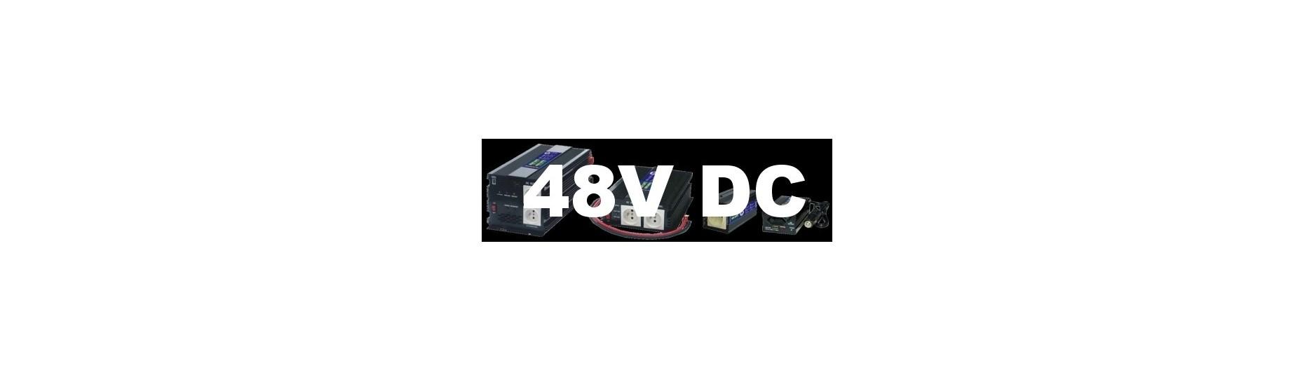 Měniče, invertory AC/DC na 48V