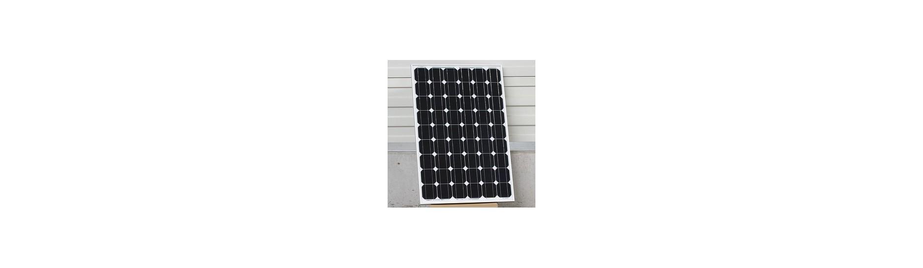 Monokrystalické solární panely